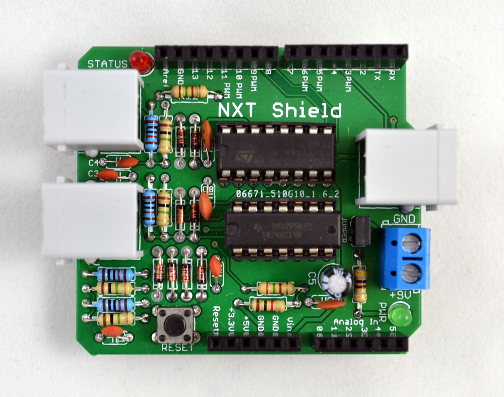 Arduino nxt motor shield kit tkj electronics webshop